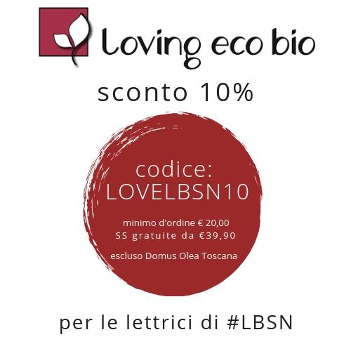 SCONTO LBSN loving ecobio