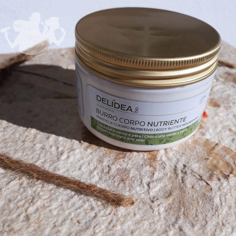 Burro corpo nutriente cioccolato verde e pera - Delidea