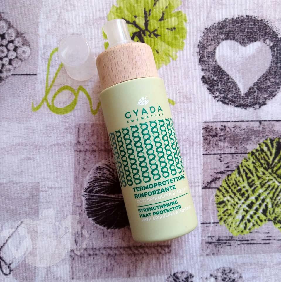 Termoprotettore rinforzante con Spirulina - Gyada Cosmetics