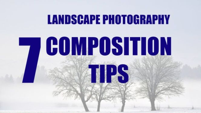 astuce composition photo paysage