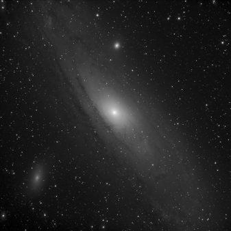 astrophoto caméra CCD B&W