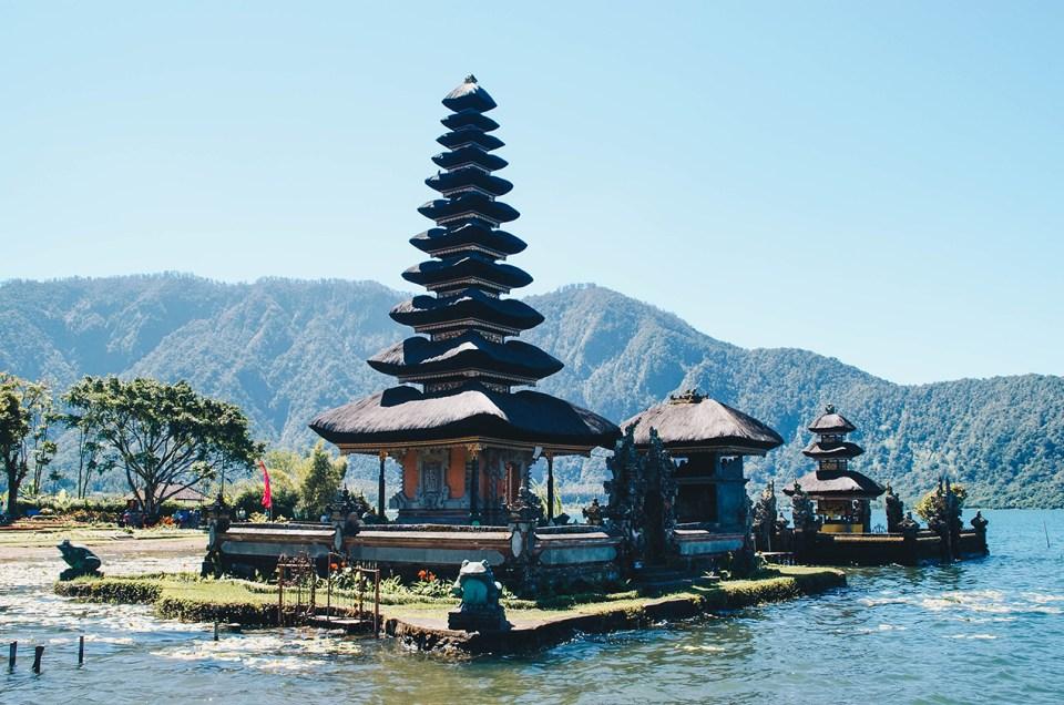 Bali – Le temple du lac Danu Bratan