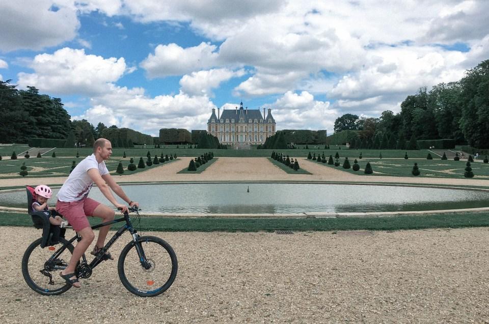 Balade à vélo au Parc de Sceaux
