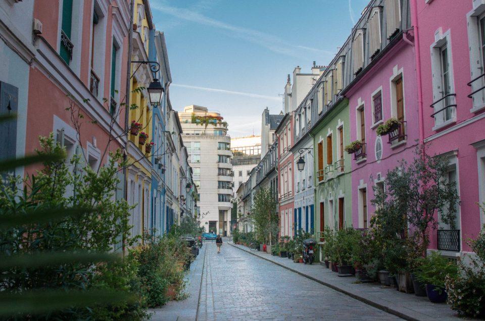 Les jolies couleurs de la rue Crémieux