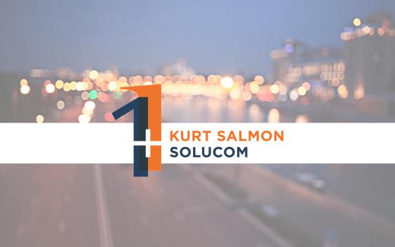 Evénement : Finalisation du rapprochement entre Solucom et les activités de Kurt Salmon en Europe (hors retail et consumer goods) – Naissance d'un nouveau leader du conseil
