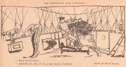 Les questions éthiques soulevées par les bombardements aériens sur les populations civiles se précisent lors de la Grande Guerre, notamment à travers la caricature.