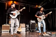 Thierry Jaccard (guitar, vocals), Yannick Nanette (guitar, vocals). The Two @ 4ème Blues Party, Les Jardins du Millenium, l'Isle d'Abeau (France), 04.06.2016. (c) Christophe Losberger