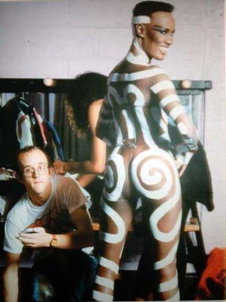 grace-jones-keith-haring-body-painting