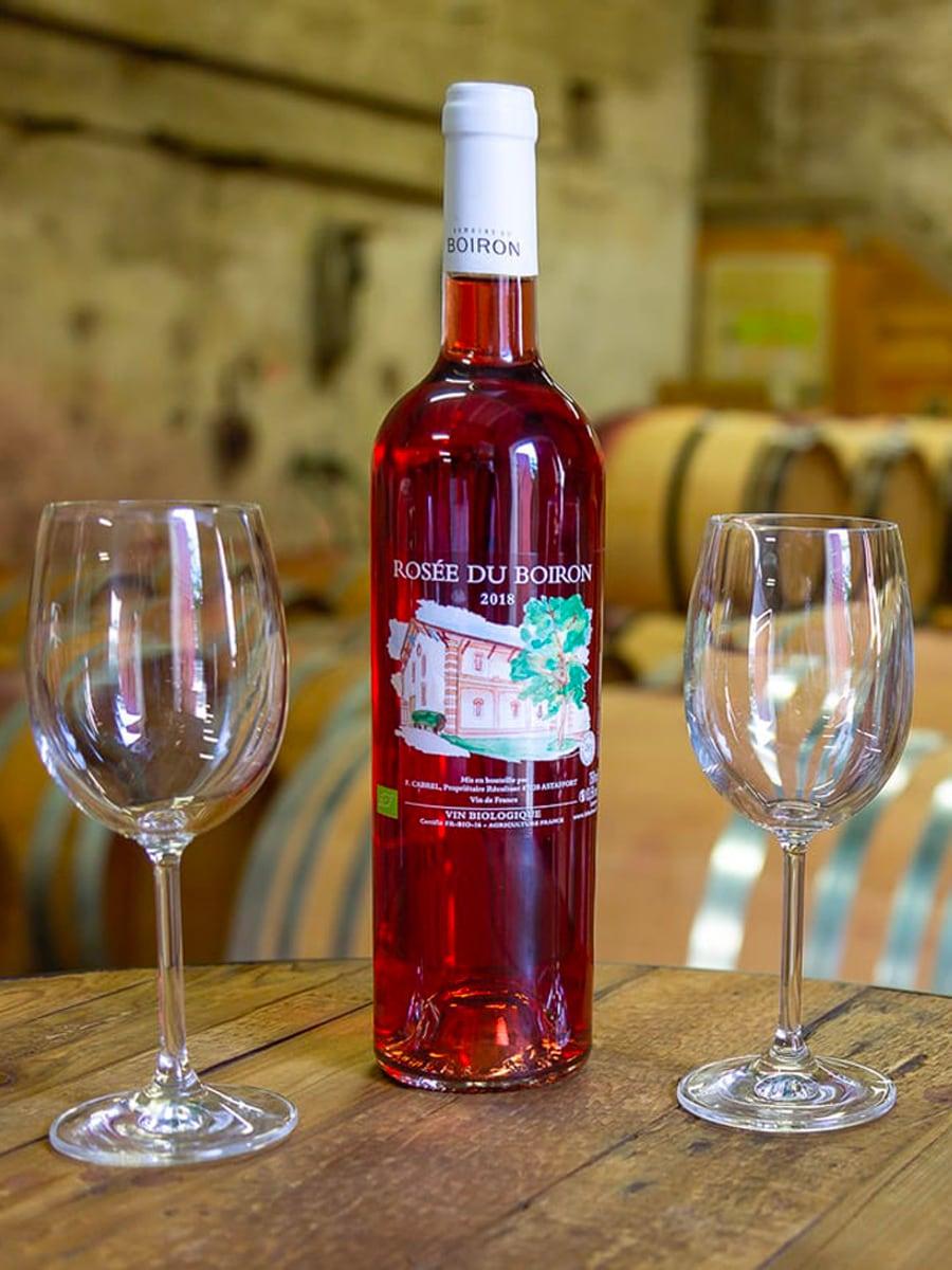 Cuvées rosée du Boiron