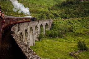 Sur le viaduct de Glenfinnan