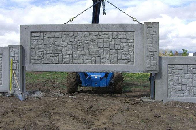 un mur de cloture pour un jardin clos