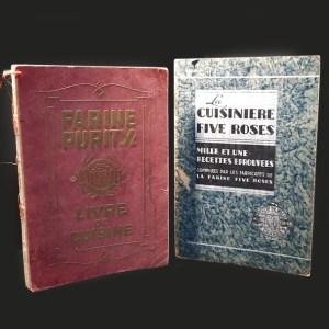 Ensemble Livres de cuisine