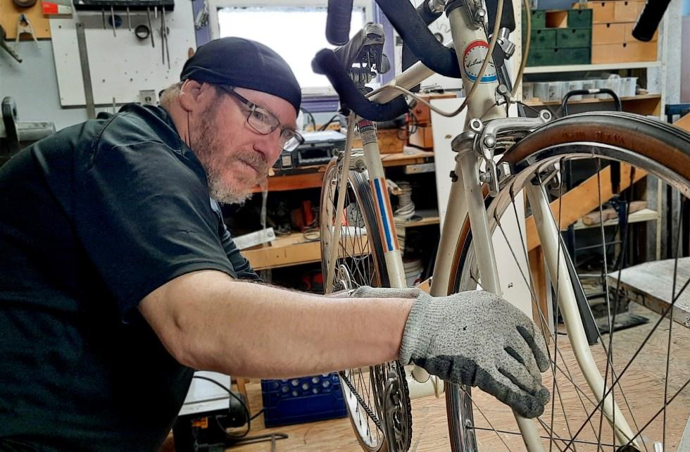 Vélos réparés