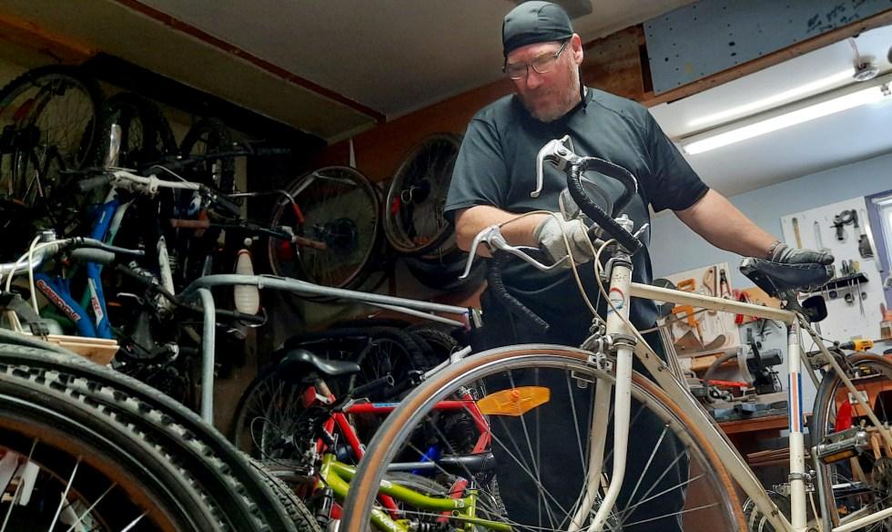 Vélos inspectés