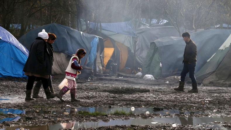 L'horreur au camp de refugiés de Grande Synthe