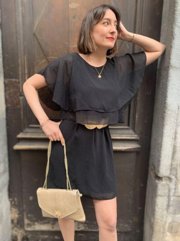 robe noire Vimagile de chez Vila