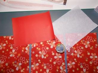 Pochette rouge - 04