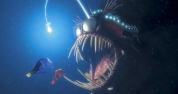 La baudroie abyssale des studios Pixar dans Le Monde de Nemo. Source : Elperromorao.com