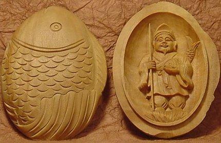 Amulette contemporaine d'Ebisu. Disponible sur le site buddhist-artwork.com. Source : Onmarkproductions.com