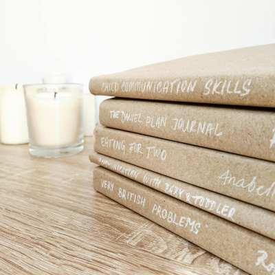 Stylish book cover – cheap DIY!