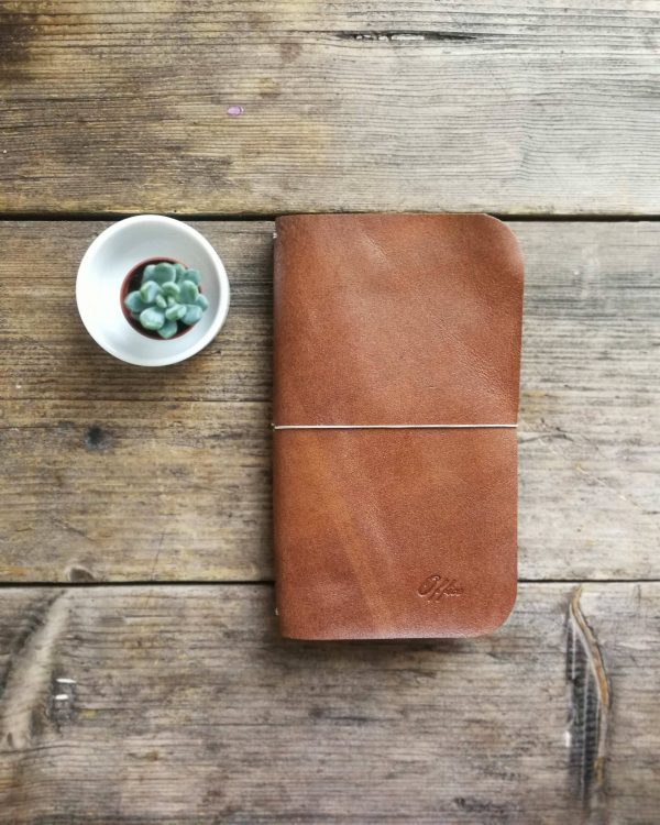 artisan leather sketchbook