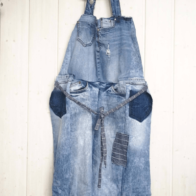 SPRING DIY – DENIM APRON