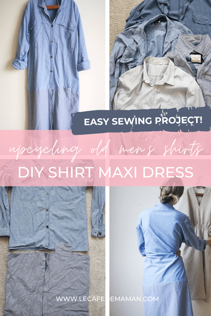 how to sew easy dress