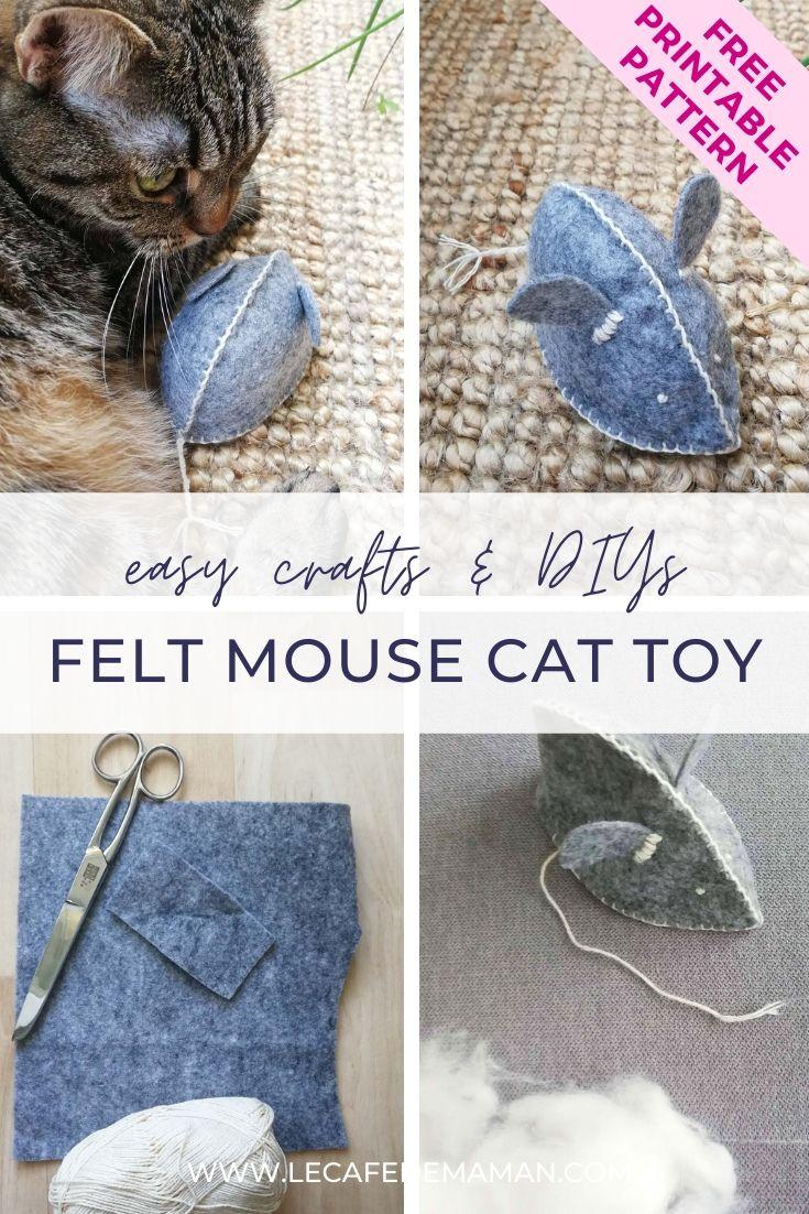 diy felt cat toy