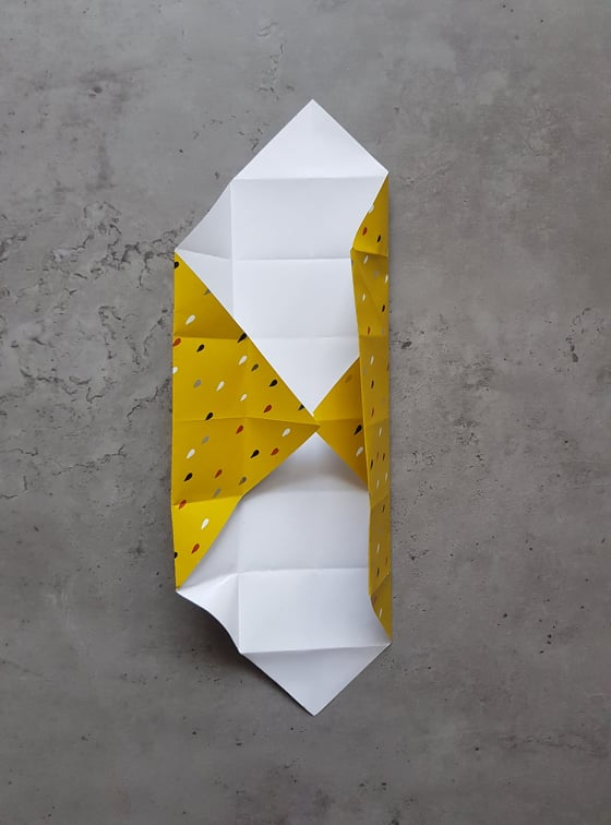 easy step by step origami box