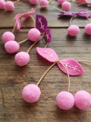 valentines day cherry garland