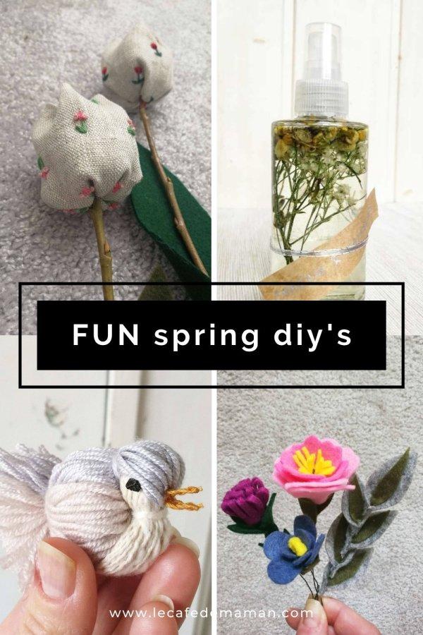 easy spring diy ideas