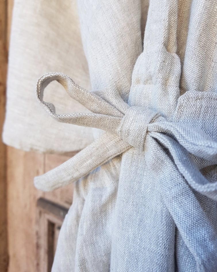 handmade kimono linen dress