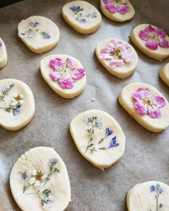 edible flowers recipe