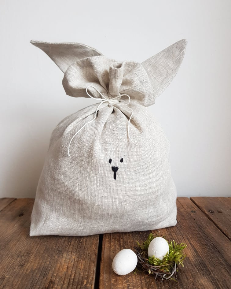 fabric bunny bag sewing guide