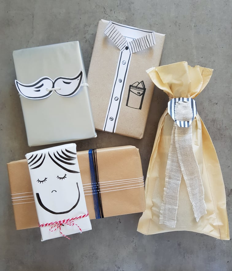 fathers day gift wrapping ideas