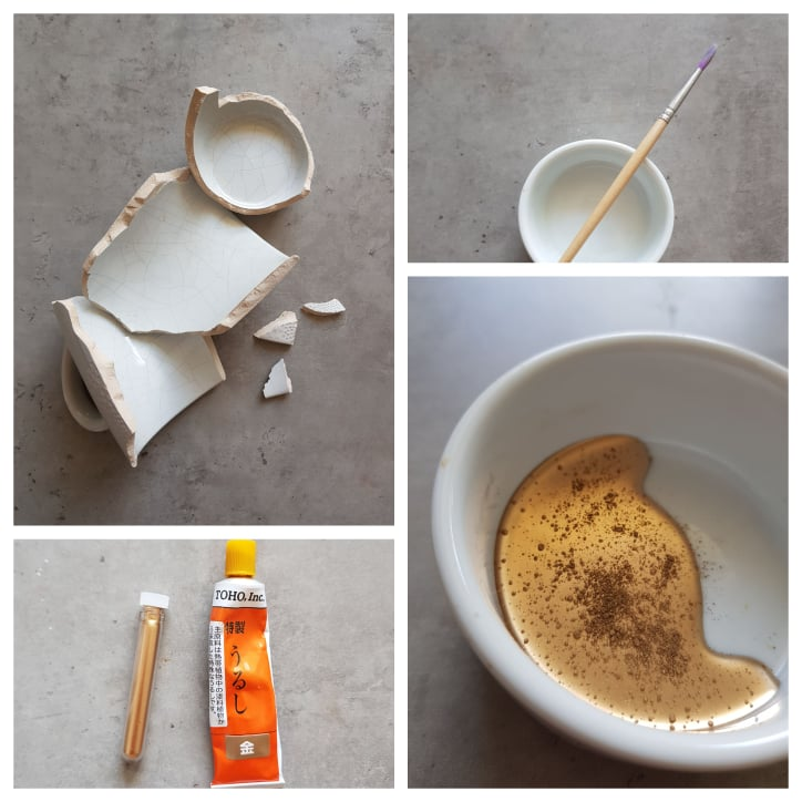kintsugi mug craft