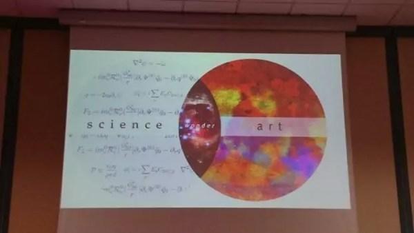 science x art