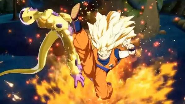 Goku SSJ3 vs Golden Freezer