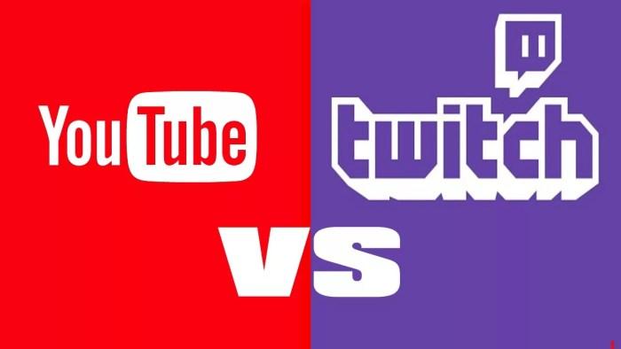 youtube vs twitch