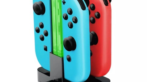 Joy-Con chargeur, Nintendo Switch 4 en 1