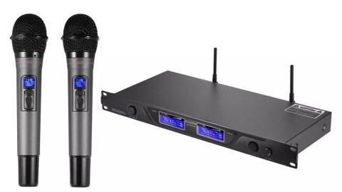 Microphone Professionnel UHF Sans Fil