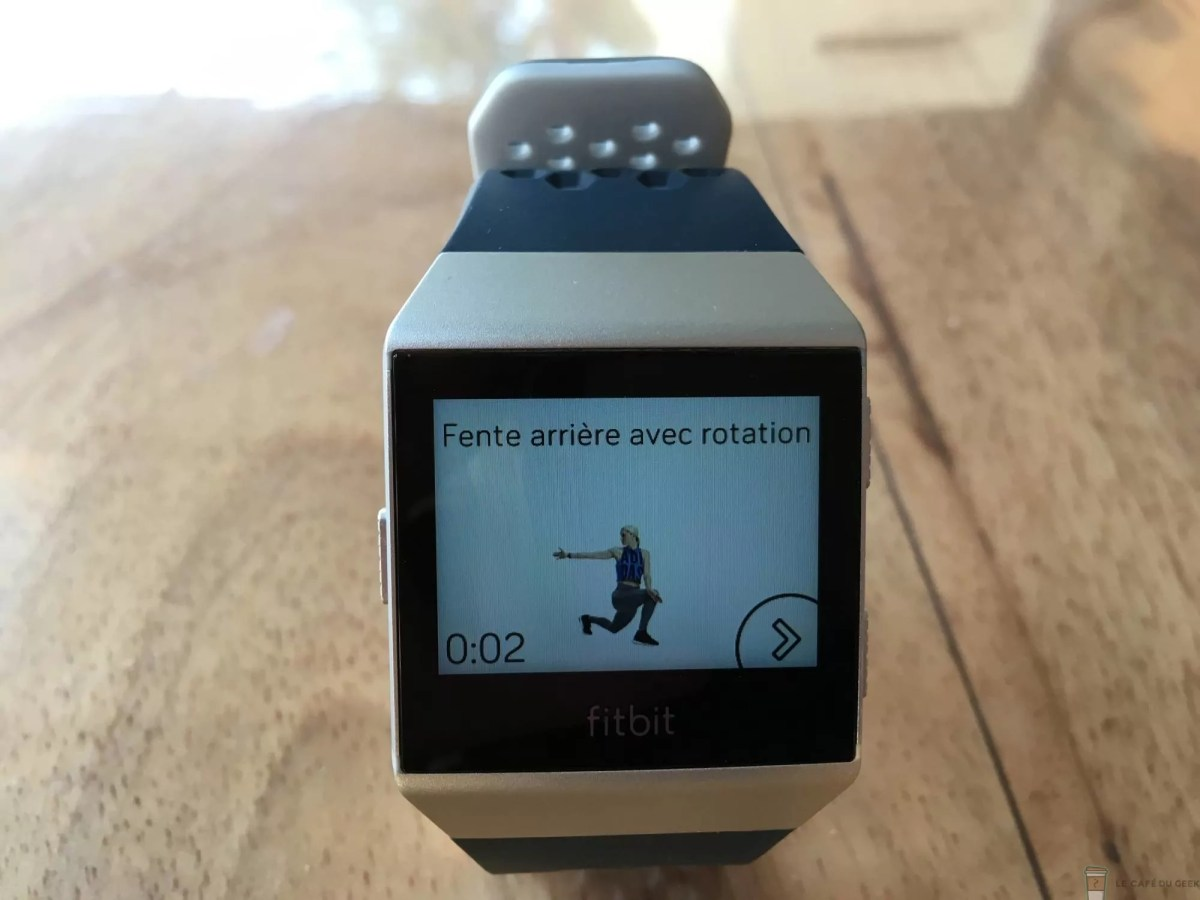 Fitbit Ionic Adidas Test Complet Le Caf Du Geek