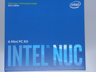 Intel NUC-Packaging vue de dessus
