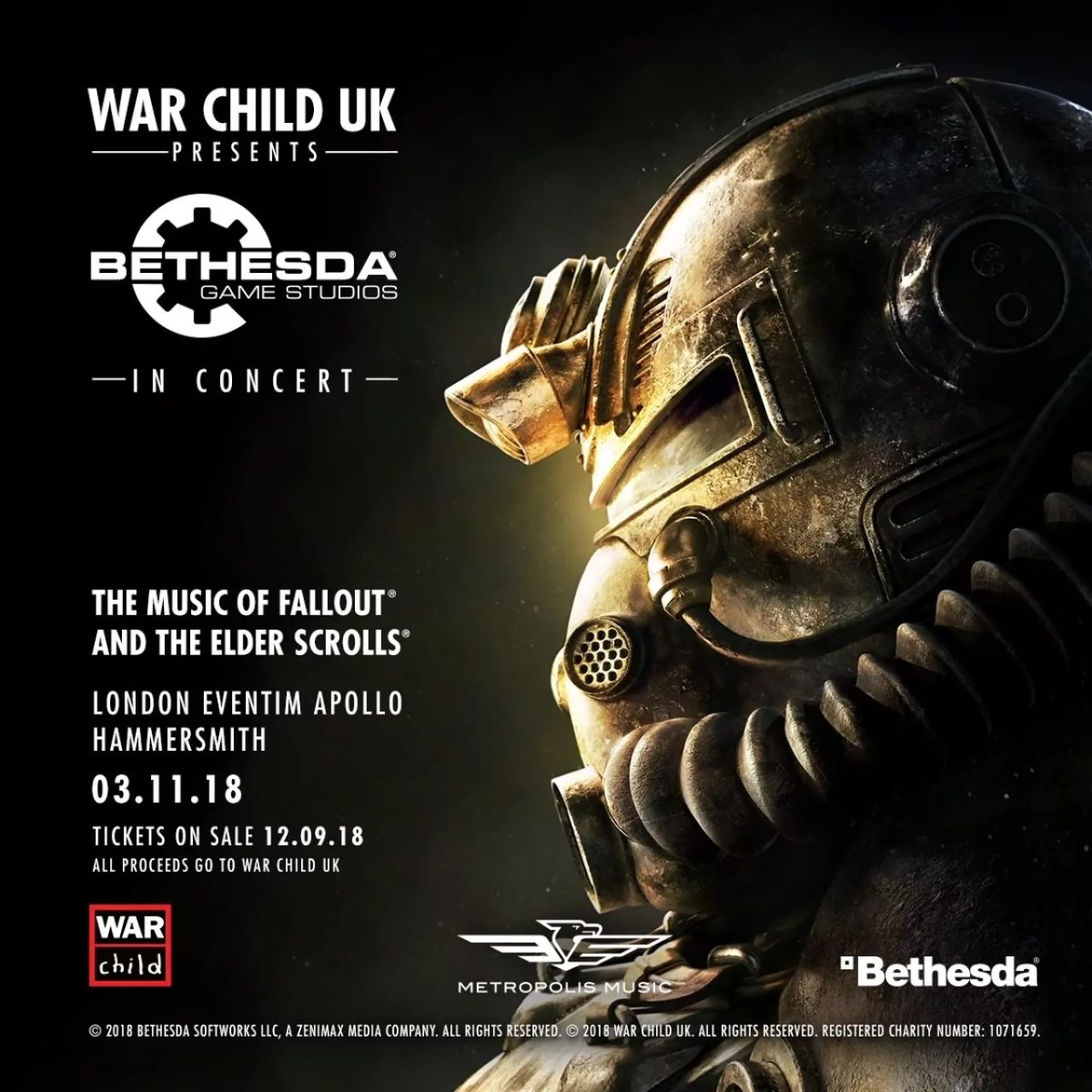Bethesda War Child UK