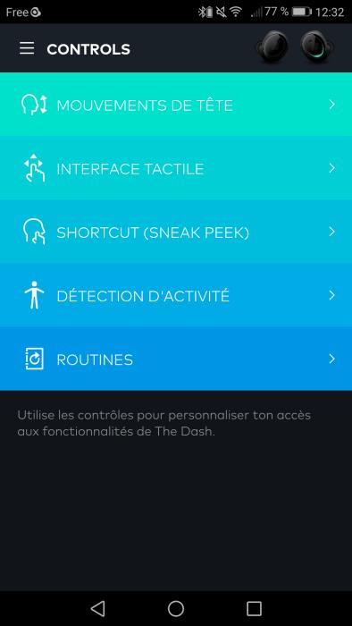Bragi The Dash Pro App