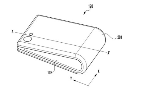Smartphone pliable - Samsung