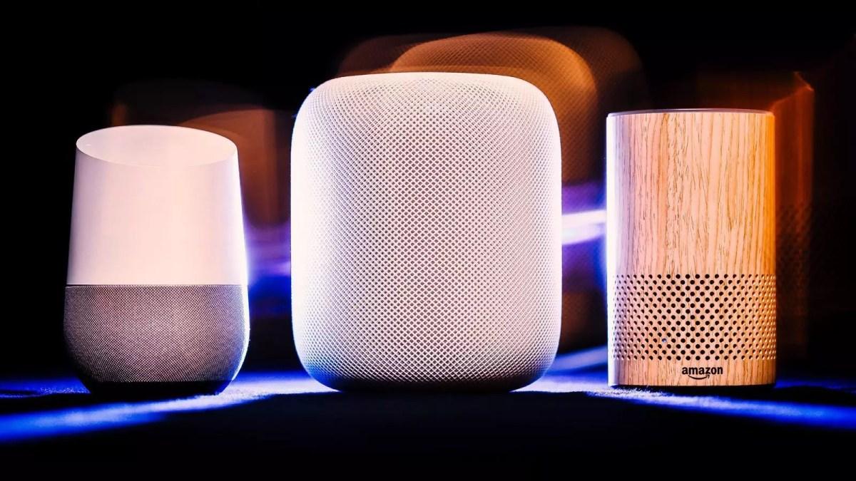 google home amazon echo homepod