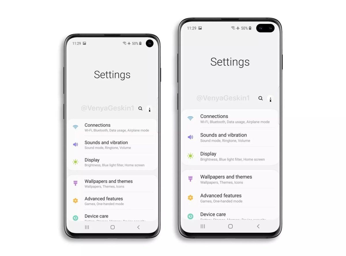 Samsung Galaxy S10 E and Galaxy S10