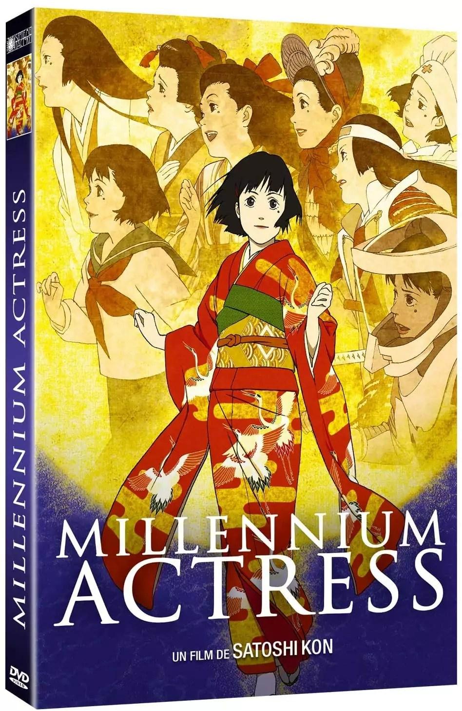 DVD du film Millennium Actress publié chez Septième Factory