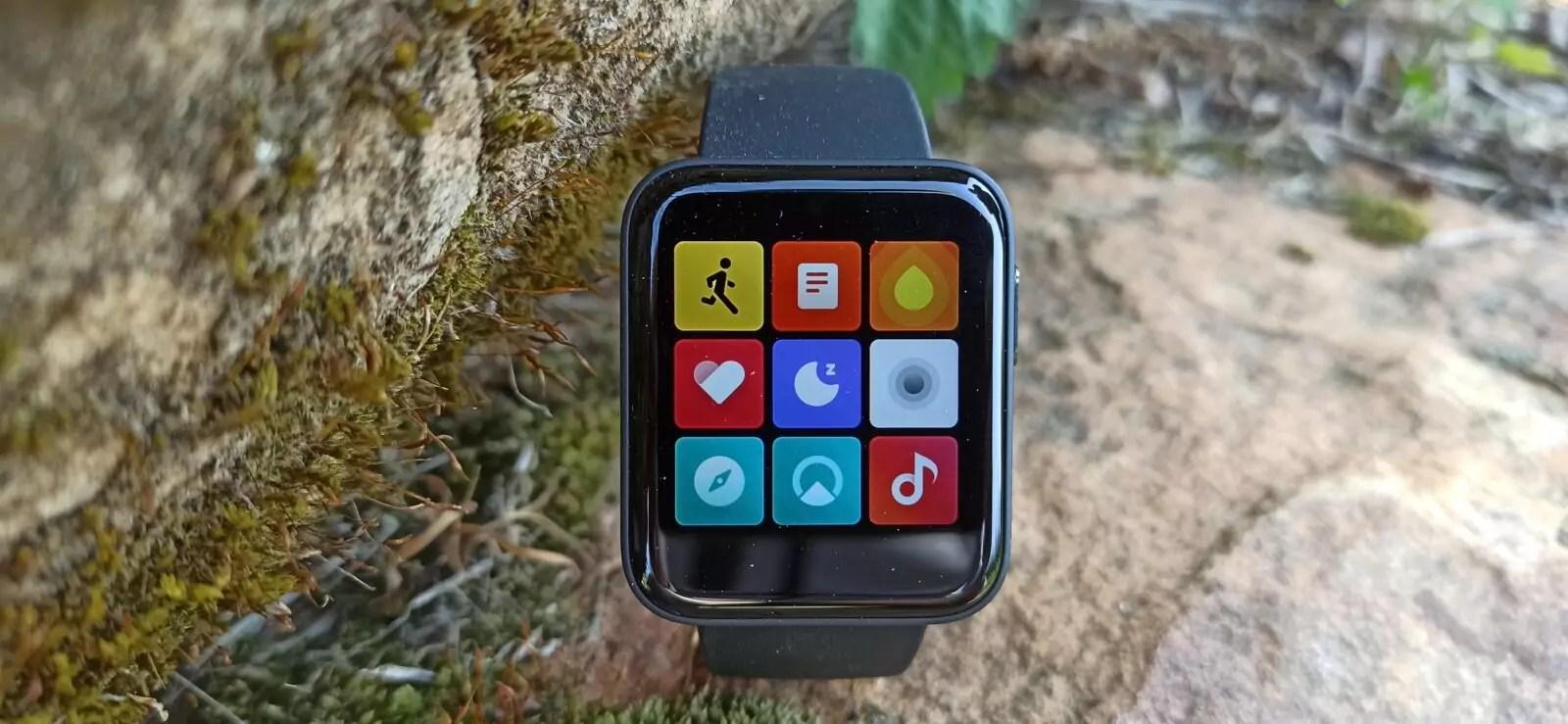 Mi Watch Lite menu fonctionnalités 1